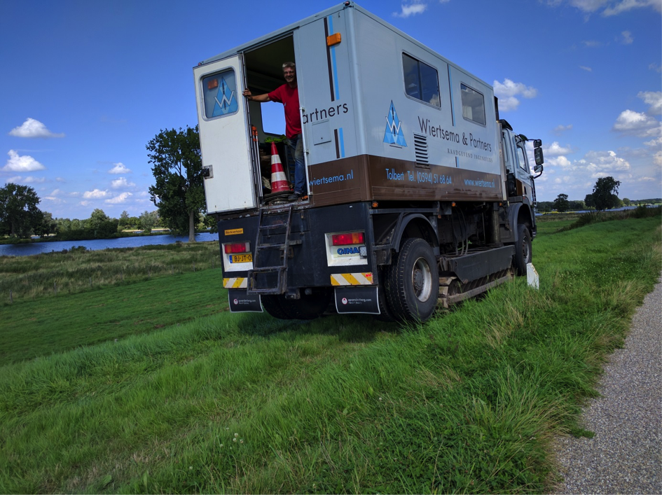 Sonderingen - Meanderende Maas