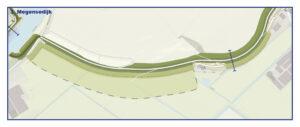 Kaart Megensedijk