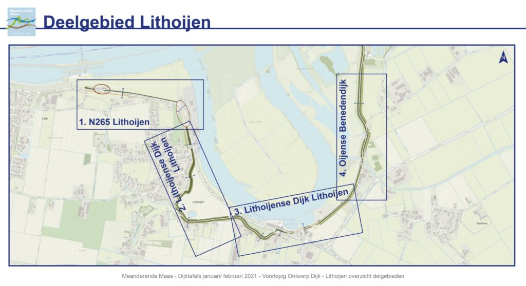 Bekijk de overzichtskaart van het deelgebied Lithoijen